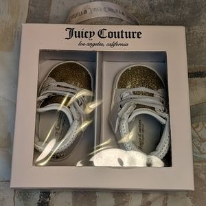 NIB Juicy Couture Baby Saratoga High Top Sneakers